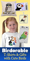 Birdorable T-Shirts and Gifts with Cute Birds