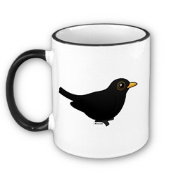 Birdorable Blackbird Mug