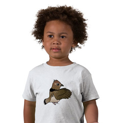 Birdorable Ruffed Grouse Toddler T-Shirt