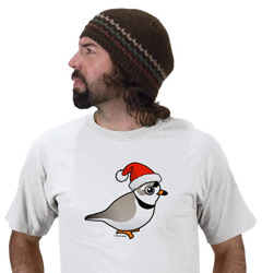Birdorable Piping Plover Santa T-Shirt