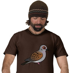 Birdorable Turtle Dove T-Shirt