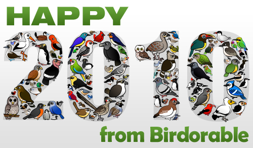 Happy 2010 from Birdorable
