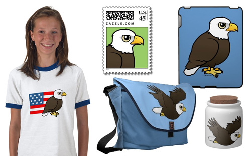 Birdorable Eagle Products