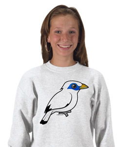 Birdorable Bali Mynah Kids Sweatshirt