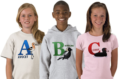 Birdorable ABC T-Shirts