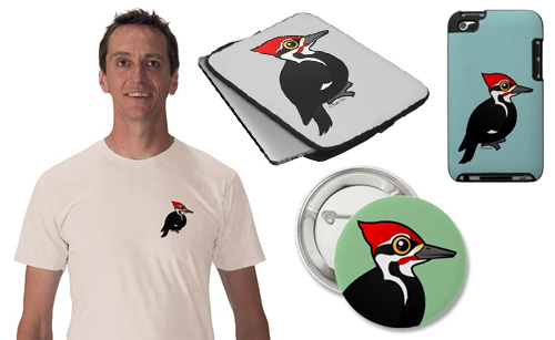 Birdorable Pileated Woodpecker Product Samples