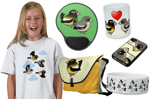 Evening Grosbeak gifts