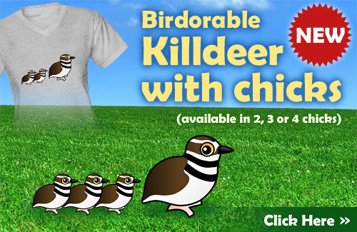 Birdorable Killdeer with Chicks