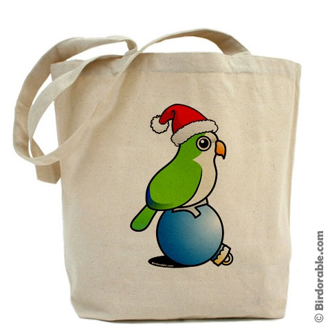 Monk Parakeet for Christmas