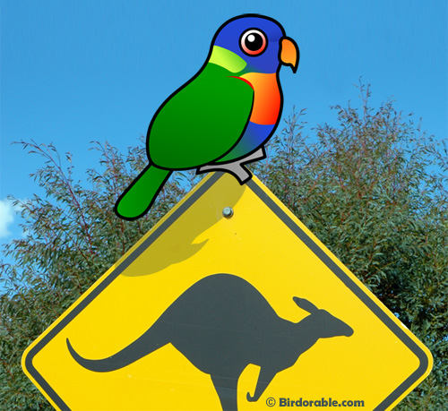 Birdorable Rainbow Lorikeet