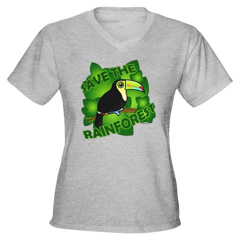 Birdorable Save the Rainforest t-shirt
