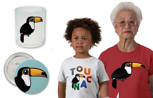 Birdorable Toco Toucan gifts