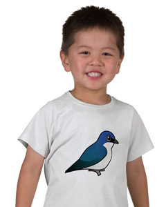 Birdorable Tree Swallow EDUN LIVE Lamb Toddler Essential Crew T-Shirt
