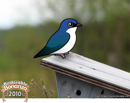 Birdorable Tree Swallow