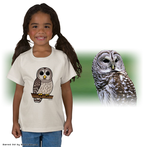 Birdorable Barred Owl T-Shirt