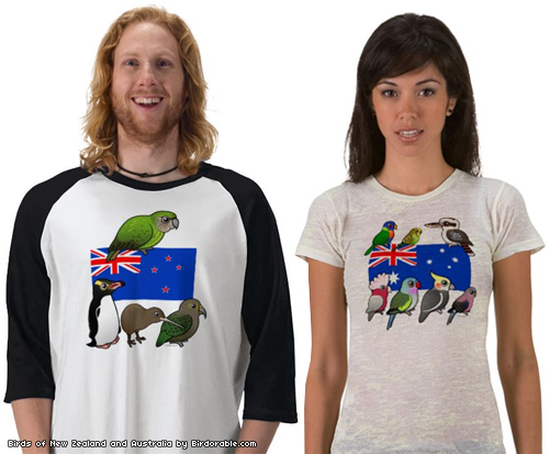 Birds of New Zealand and Australia