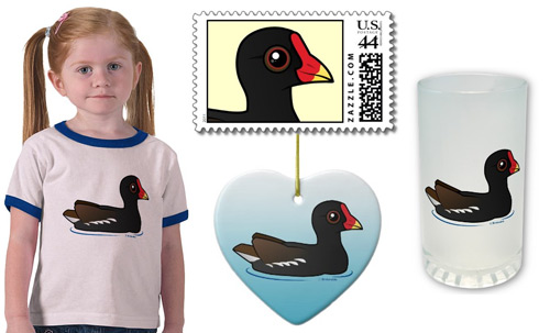 Birdorable Moorhen Product Samples