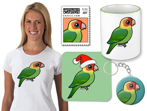 Birdorable Carolina Parakeet Product Samples