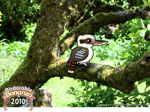 Birdorable Laughing Kookaburra