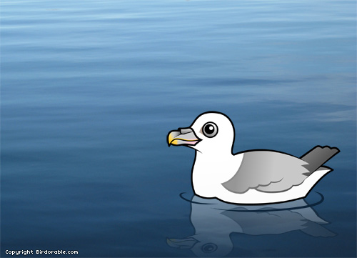 Birdorable Northern Fulmar