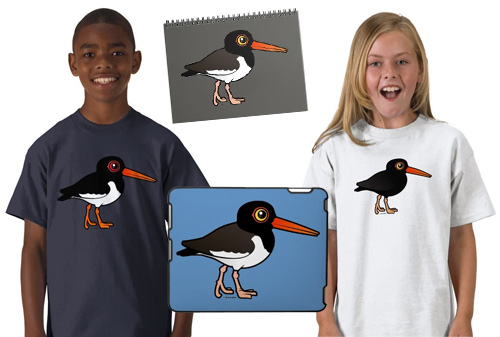 Birdorable Oystercatchers sample products