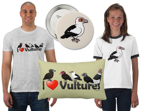 Birdorable Palm-nut Vulture t-shirts and gifts