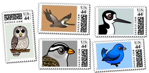 Birdorable Stamps