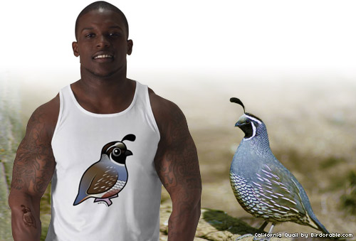 Birdorable California Quail t-shirt