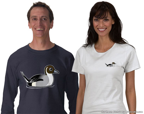 Birdorable Northern Pintail T-Shirts