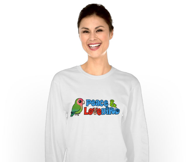 Birdorable Peace & Lovebird t-shirt