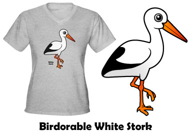 Birdorable White Stork