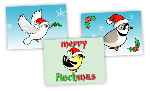Birdorable Christmas Cards