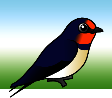 Cute Barn Swallow By Birdorable Meet The Birds