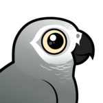 Birdorable African Grey Parrot