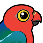 Birdorable Australian King-Parrot