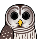 Birdorable Barred Owl