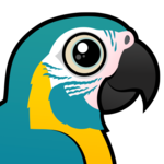Birdorable Blue-throated Macaw