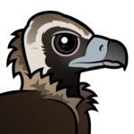 Birdorable Cinereous Vulture