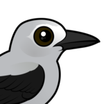 Birdorable Clark's Nutcracker
