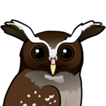 Birdorable Crested Owl