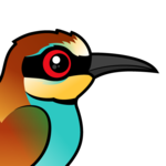 Birdorable European Bee-eater