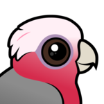 Birdorable Galah