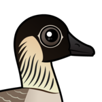 Birdorable Hawaiian Goose
