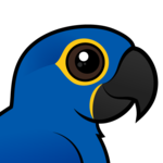 Birdorable Hyacinth Macaw