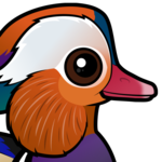 Birdorable Mandarin Duck
