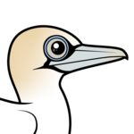 Birdorable Northern Gannet