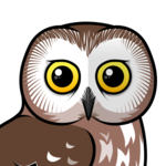 Birdorable Northern Saw-whet Owl