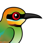 Birdorable Rainbow Bee-eater