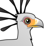 Birdorable Secretary Bird