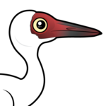 Birdorable Siberian Crane